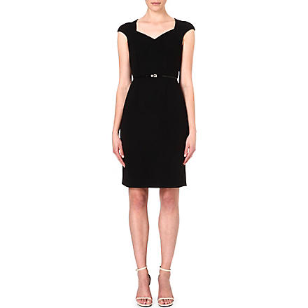 HUGO BOSS Crepe dress (Black