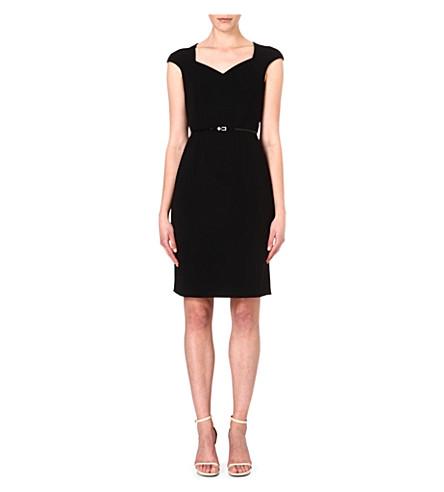 HUGO BOSS Crepe dress (Black