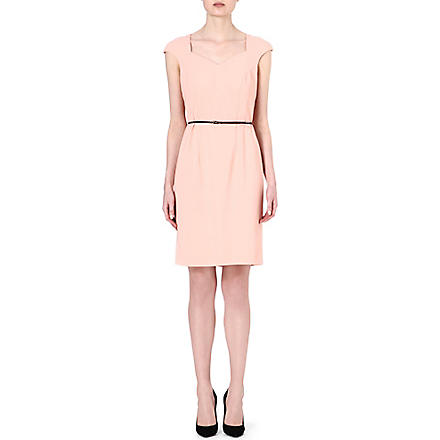 HUGO BOSS Crepe dress (Blush