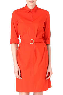 HUGO BOSS Belted shirt dress