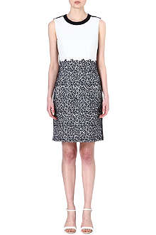 HUGO BOSS Deleva embroidered dress