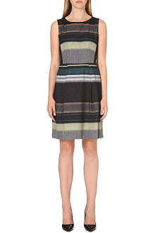HUGO BOSS Dicoris wool-blend dress