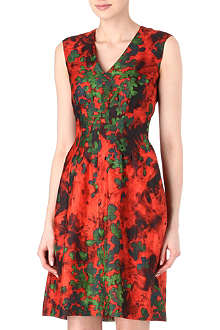 HUGO BOSS Dilenja floral dress