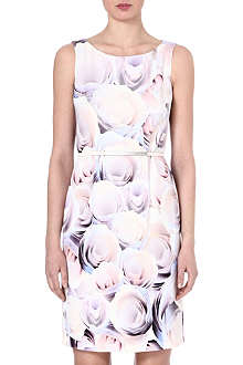 HUGO BOSS Floral-print shift dress