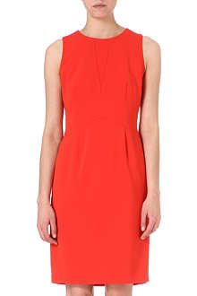 HUGO BOSS Crepe shift dress