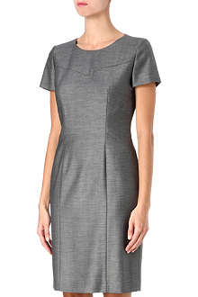 HUGO BOSS Pin-dot shift dress
