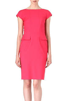 HUGO BOSS Dinaro peplum dress