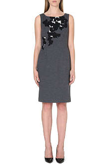 HUGO BOSS Dinoma wool-blend dress