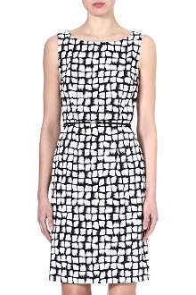 HUGO BOSS Dinoma printed dress