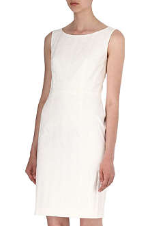 HUGO BOSS Dinova jaquard shift dress