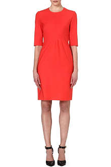 HUGO BOSS Dipera wool-blend dress