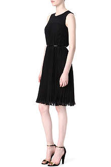 HUGO BOSS Diplise pleated dress