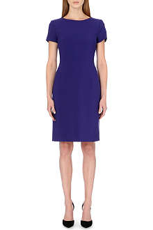 HUGO BOSS Tailored stretch-crepe dress