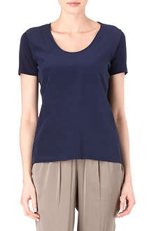 HUGO BOSS Silk-blend top