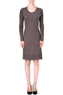 HUGO BOSS Mixed-knit dress