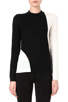 HUGO BOSS Monochrome knitted jumper