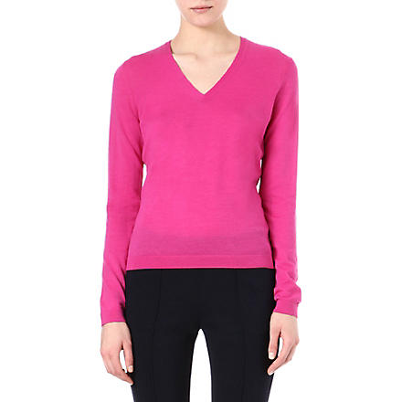 HUGO BOSS Fine-knit jumper (Pink
