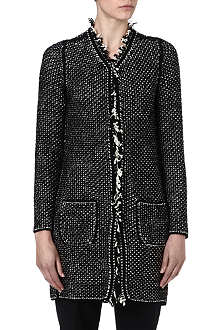HUGO BOSS Tweed cardigan