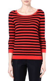 HUGO BOSS Striped top