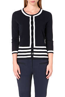 HUGO BOSS Stripe cardigan