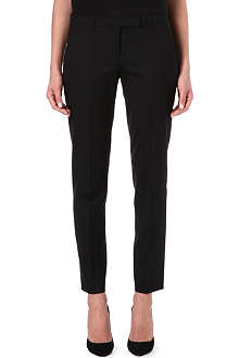 HUGO Wool-blend cropped trousers