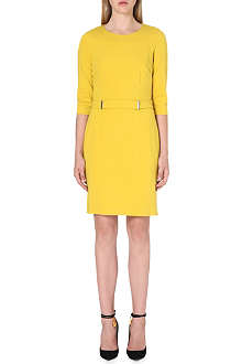 HUGO BOSS Helwira stretch-crepe dress