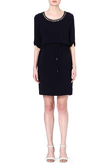 HUGO BOSS Henryke scallop dress