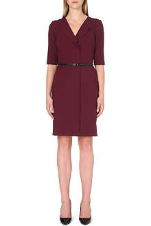 HUGO BOSS Henryta stretch-crepe dress