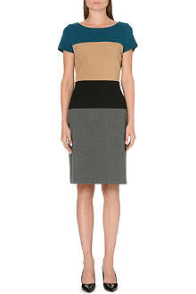 HUGO BOSS Himala stretch-jersey dress