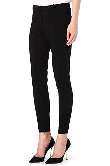 HUGO Slim-fit mid-rise trousers