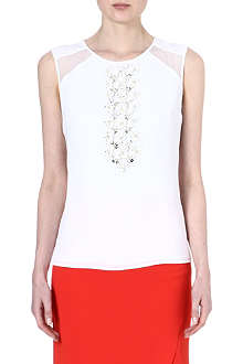 HUGO BOSS Idisa crepe top