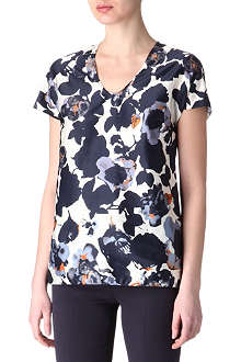 HUGO BOSS Floral print top