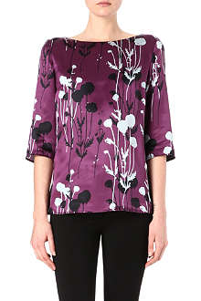 HUGO BOSS Imorany silk top