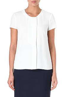 HUGO BOSS Double-placket short sleeve top