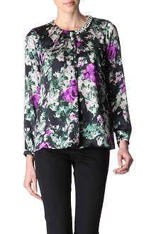 HUGO BOSS Isolia printed top