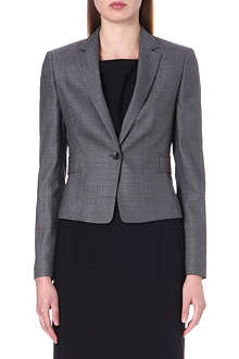 HUGO BOSS Tailored stretch-wool jacket