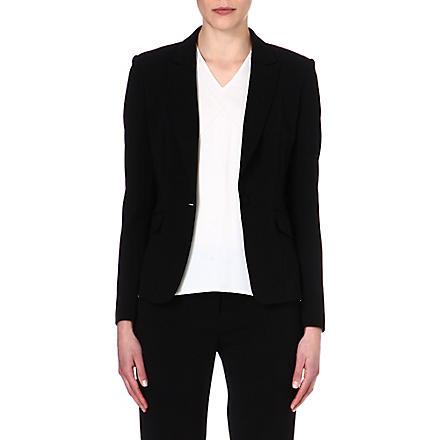 HUGO BOSS Janore crepe blazer (Black