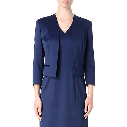 HUGO BOSS Jianne satin jacket (Blue