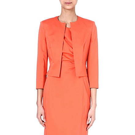 HUGO BOSS Cropped jacket (Coral
