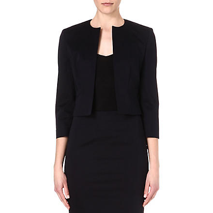 HUGO BOSS Cropped jacket (Navy