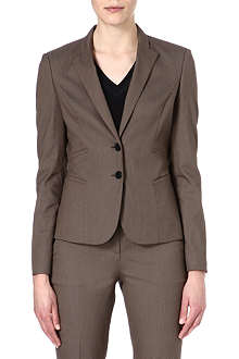 HUGO BOSS Jirella cotton-blend blazer