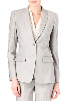 HUGO BOSS Juicy wool-blend suit jacket