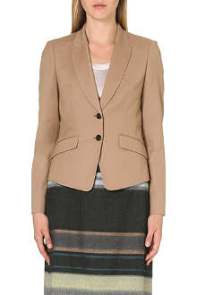 HUGO BOSS Fitted stretch-wool jacket