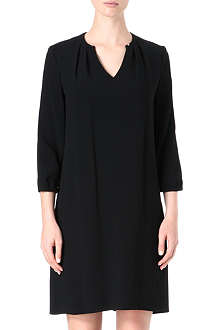 HUGO Loose crepe tunic dress