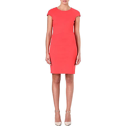 HUGO Jersey bodycon dress (Coral