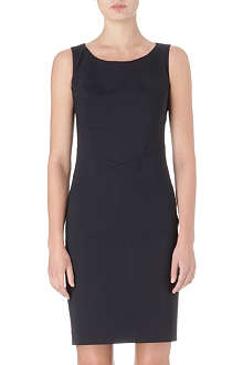 HUGO Wool sleeveless shift dress