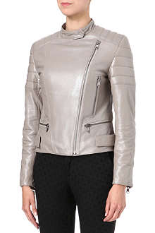 HUGO Licila leather jacket