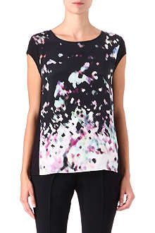 HUGO Natasi printed top