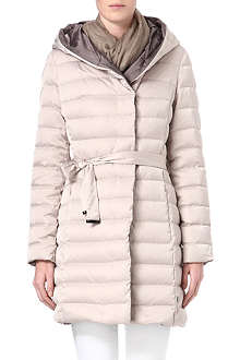 HUGO BOSS Quilted coat with hood