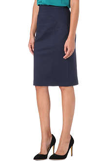 HUGO Jersey pencil skirt
